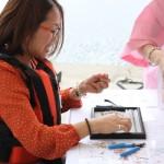 ◆アコヤ真珠×天然石ブレスレット◆ 作り方