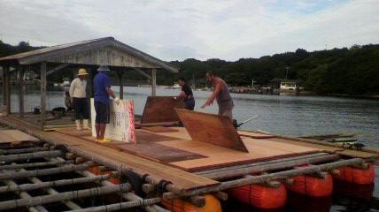 里海文化祭の準備
