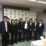 三重県知事へ報告会