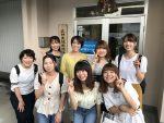 大阪夕陽丘学園短期大学の生徒さんと真珠のお勉強会✨