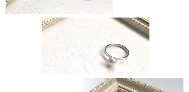 真珠の指輪✨