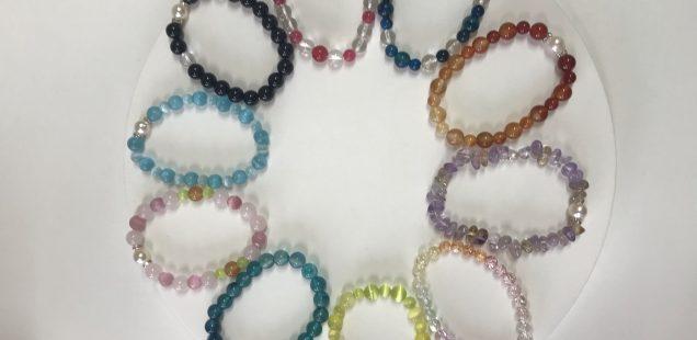 真珠のブレスレット作り体験❣️