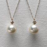 真珠のペンダントにリメイク❣️